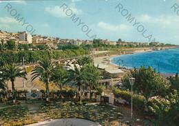 CARTOLINA  REGGIO CALABRIA,CALABRIA,GIARDINI LIDO E PANORAMA,MARE,SOLE,LUNGOMARE,ESTATE,VACANZA,VIAGGIATA 1962 - Reggio Calabria