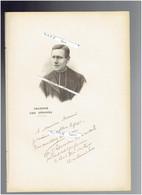 ABBE JULES LEMIRE 1853 VIEUX BERQUIN 1928 HAZEBROUCK PRETRE ET POLITIQUE PORTRAIT AUTOGRAPHE BIOGRAPHIE ALBUM MARIANI - Documenti Storici