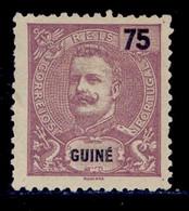 ! ! Portuguese Guinea - 1903 D. Carlos 75 R - Af. 93 - NGAI - Guinée Portugaise