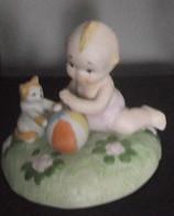 Figurine Porcelaine Signée Capodimonte - Capodimonte (ITA)