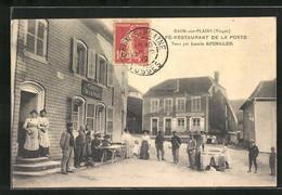 88 Raon-sur-Plaine (saint Die Des Vosges), Cafe-Restaurant De La Poste Tenu Par Louis Spingler - Autres Communes