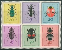 DDR 1968 Tiere Insekten Käfer 1411/16 Postfrisch - Neufs