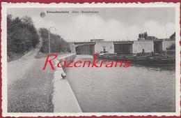Kwaadmechelen Albertkanaal Sluis Benedenkant Binnenschip Barge Peniche Ham Limburg (In Zeer Goede Staat) - Ham