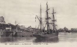 Reproduction D'une CP Rare SAINT MALO - Rentrée Au Port Du POURQUOI PAS Expédition CHARCOT - Saint Malo