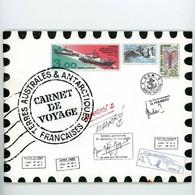 TAAF N° C248 CARNET DE VOYAGE 1999 - Lettres & Documents