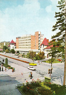 CÂMPULUNG MUSCEL / ARGES : HOTEL MUSCELUL / AUTOMOBILE... - FOTO : MARIANA Si AL. MENDREA ~ 1975 - '980 (ah617) - Rumania