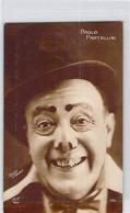 CARTE PHOTO THEME CELEBRITES CLOWN PAOLO FRATELLINI 151 HENRY PARIS DOS DIVISE NON ECRIT - Artistas