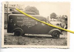 80 102 HAM CAMION EQUIPE DE CINEMA DE LA PROPAGANDE ALLEMANDE 1940 - Ham