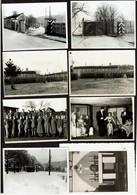 8 Photos - 1941 - Camp Oflag XD Fischbek - Prisonnier Raymond BUCHET - WW2 - Guerra 1939-45