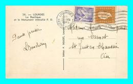 A911 / 129  Timbre N° 651 Et N° 683 Sur Lettre - Cartas