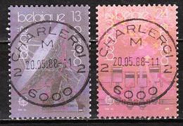 2283/84  Europa - Série Complète - Oblit. Centrales - LOOK!!!! - Gebruikt