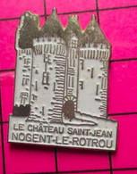 513B Pin's Pins / Beau Et Rare / THEME : VILLES / NOGENT LE ROTROU CHATEAU SAINT JEAN - Cities