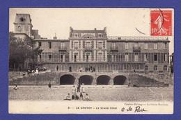 LE CROTOY Grand Hotel Animé - TTB état - WX 142 - Le Crotoy