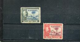 Gambie 1938-46 Yt 125 127 - Gambia (...-1964)