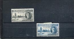 Gambie 1946 Yt 137-138 * - Gambia (...-1964)