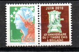 Q1-11 France Oblitéré N° 4471 à 10% De La Côte Côte - Usati