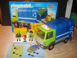PLAYMOBIL 6110 Grand Camion Poubelle Neuf En Boîte + Notice - Playmobil
