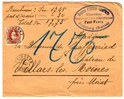 48955 - Pour  Le Château De VILLARS LES  MOINES - Briefe U. Dokumente