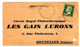 48959 - étiquette  De  Concours De  Ballons - 1921-1960: Moderne