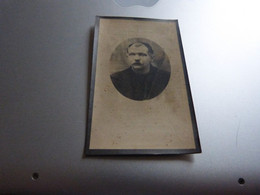 Souvenir Décès Jan-Everard De Leeuw Baert Lebbeke 1874 St-Gillis-Dendermonde 1931 - Avvisi Di Necrologio