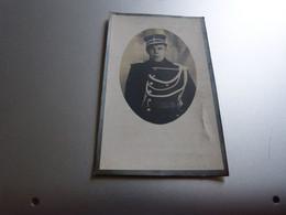 Souvenir Décès  Theofiel Cleemput Denderbelle 1907 Lebbeke 1937 Brigadier Rijkswacht Gent Gendarmerie - Décès