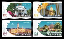 Hungary 2021 Mih. 6211/14 Regions And Towns (IV). Balatonfüred, Csorna, Győr And Nagyatád MNH ** - Nuovi