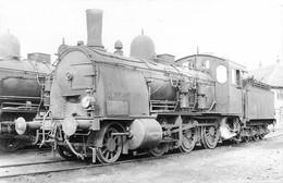 070721 - TRANSPORT CHEMIN DE FER TRAIN LOCO - PHOTO CLICHE J RENAUD - Loco Au Dépôt - Treinen