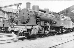 070721 - TRANSPORT CHEMIN DE FER TRAIN LOCO - PHOTO CLICHE J RENAUD - Loco Conducteur De Train Cheminot - Treinen