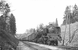 070721 - TRANSPORT CHEMIN DE FER TRAIN LOCO - PHOTO CLICHE J RENAUD - Train à Identifier - Trains