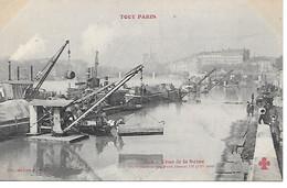 A/269              Paris        Crue De La Seine Janvier 1910          Pont Henri IV - Paris Flood, 1910