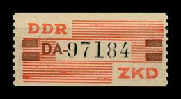 DDR ZKD 1960 Nr VIII DA Postfrisch (400821) - Dienstzegels