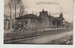 Nord CAUDRY La Gare Du Nord Les Quais - Caudry