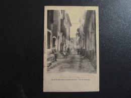 Z35 - 34 - Vue De St Gervais Sur Mare - Rue De Villeneuve - Belle Obliteration De St Gervais 1905 - Other Municipalities