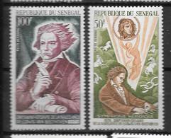 PA -1970 - 94 à 95**MNH - Ludwig Van Beethoven - 2 - Senegal (1960-...)