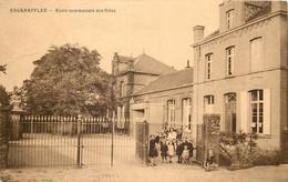 Belgique - Celles - Escanaffles - Ecole Communale Des Filles - Celles