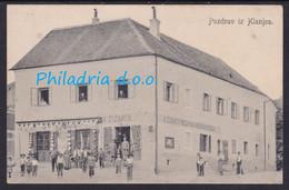 Klanjec, A. Čižmek Shop, Mailed 1917 - Croatie