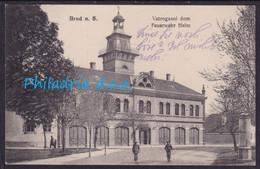 Brod Na Savi, Firemen Station, Mailed 1916 - Croatie