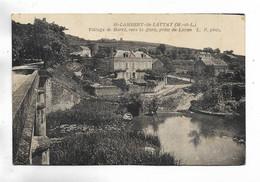49 - St-LAMBERT Du LATTAY ( M.-et-L. ) Village De Barré, Vers La Gare, Prise Du Layon - Andere Gemeenten