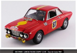 Lancia Fulvia Coupé 1300 HF - S. Munari/Lombardini - 1st Corse 1967 #87 - Best - Best Model