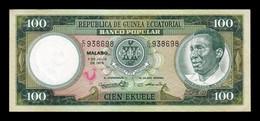 Equatorial Guinea Ecuatorial 100 Ekuele 1975 Pick 11 SC- AUNC - Equatorial Guinea