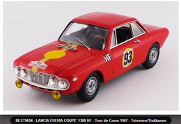 Lancia Fulvia Coupé 1300 HF - Toivonen/Tiukkanen - Tour De Corse 1967 #93 - Best - Best Model