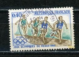 """FRANCE - JO DE MEXICO - N° Yvert 1573 Obli. Ronde De """" SURESNE"""" De 1969 - Oblitérés"""