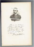 GERVAIS COURTELLEMONT 1863 AVON 1931 COUTEVROULT PHOTOGRAPHE PORTRAIT AUTOGRAPHE BIOGRAPHIE ALBUM MARIANI - Historische Dokumente