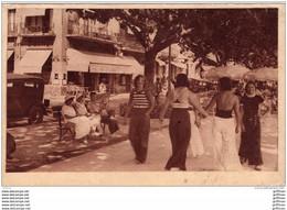SAINT RAPHAEL UN COIN DU BOULEVARD FELIX MARTIN 1934 - Saint-Raphaël