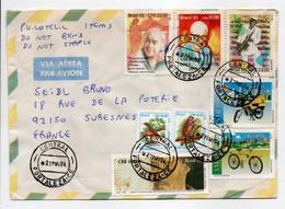 - Lettre FORTALEZA (Brésil) Pour SURESNES (France) 27.5.1994 - Bel Affranchissement Philatélique - - Lettres & Documents