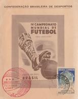 Brasile - Maximum Coppa Del Mondo Di Calcio 1950 - Cartes-maximum