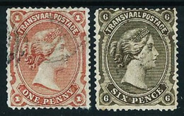 Transvaal (Británica) Nº 62-65 Usado Cat.12€ - Transvaal (1870-1909)