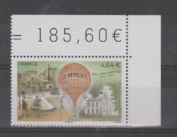 """FRANCE / 2020 / Y&T PA N° 84 ** : Ballons Montés """"Le Neptune"""" (de Feuille) X 1 CdF Sup D - 1960-.... Mint/hinged"""