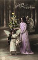 Weihnachten, Engel, Christkind, Teddy, Teddybär, Um 1910/20 - Otros