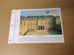 Feuillet Double 1er Jour - La SODOP - Le Palais De L'Elysée- 1995 - 1990-1999